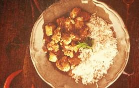Tekas chicken curry