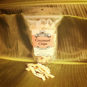 coconut chips salted