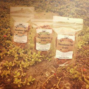 Macadamia Nut Brittles